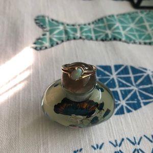 Vintage 14k Gold Opal Ring Sz 5